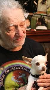 Willie Nelson e um de seus cães - Foto willienelson.com