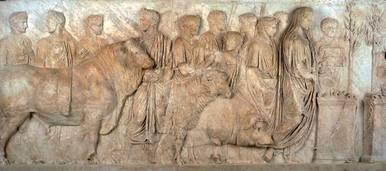 """Veterinarius"" na Roma Antiga - Foto Reprodução"
