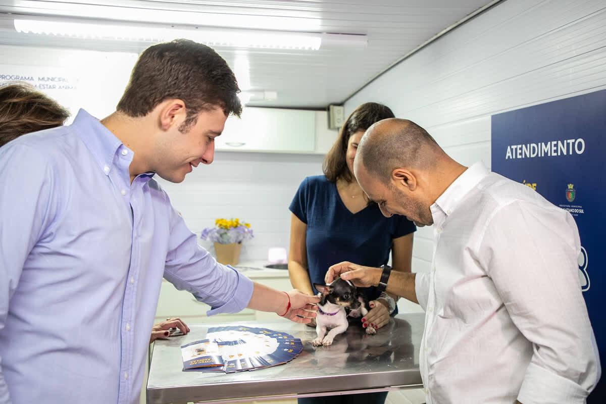 São Caetano apresenta o Programa Municipal de Saúde e Bem-Estar Animal - Foto Prefeitura de São Caetano