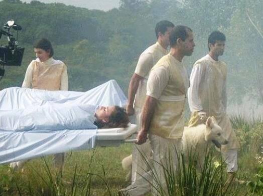Pastor suíço em cena do filme Nosso Lar - Foto Divulgação
