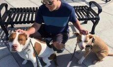 Stephen William Dale Shkuratoff, canadense cego e amante de cães - Foto Facebook
