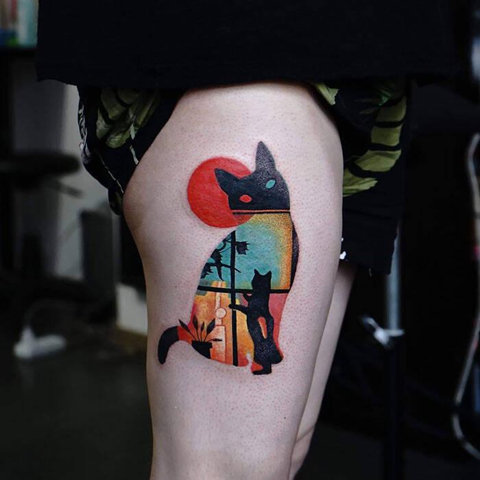 Donos fazem tatuagens de gato, e o resultado vai do belo ao assustador