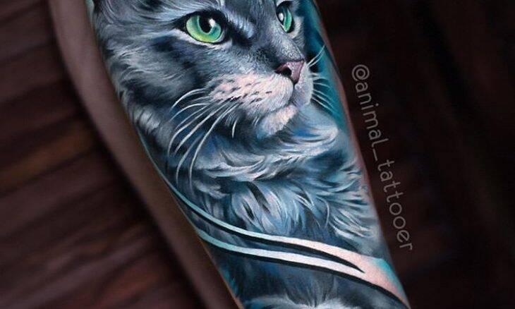 Você nunca viu tatuagens de cães e gatos tão realistas