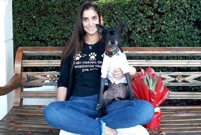 Cachorrinha se cura de câncer e livra dona da depressão