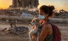 Um mês após a explosão no Líbano, donos reencontram seus pets