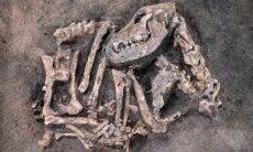 Arqueologistas encontram cão enterrado com o dono há 8.400 anos