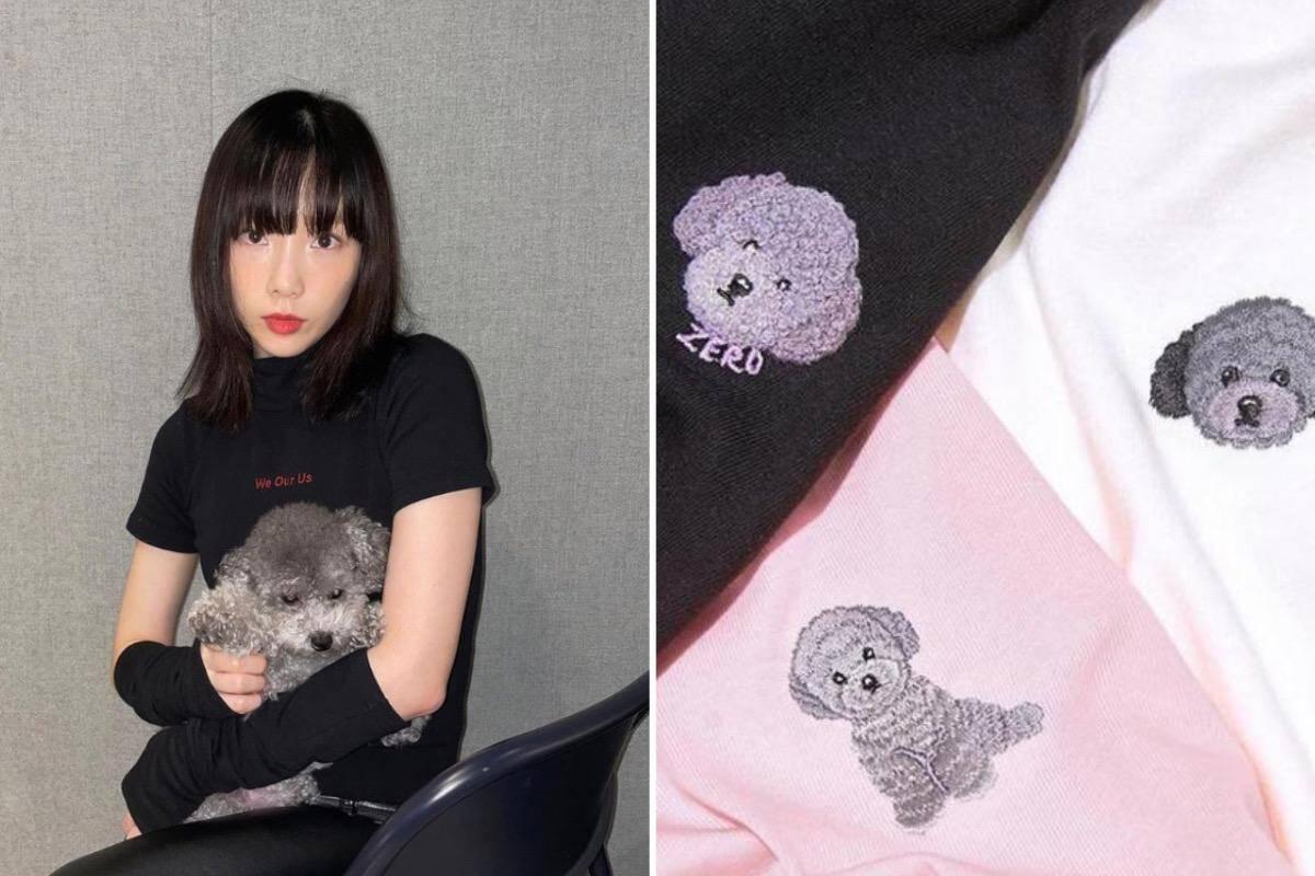 Estrela do K-Pop lança linha de roupas de seu cão e fatura mais de R$ 6 milhões em quatro meses