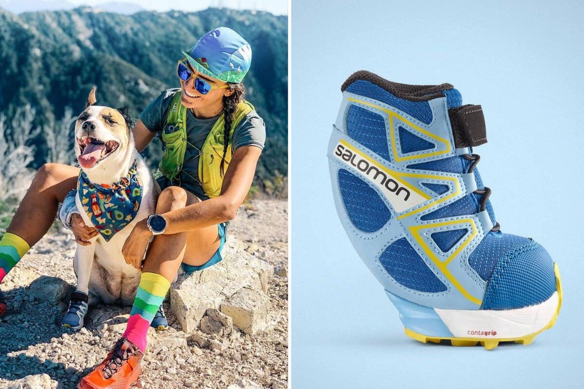 Seu cão acaba de ganhar um calçado para acompanhar você nas trilhas