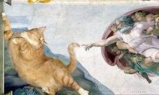 Dona insere seu gato em quadros famosos, e o resultado são 15 fotos hilárias