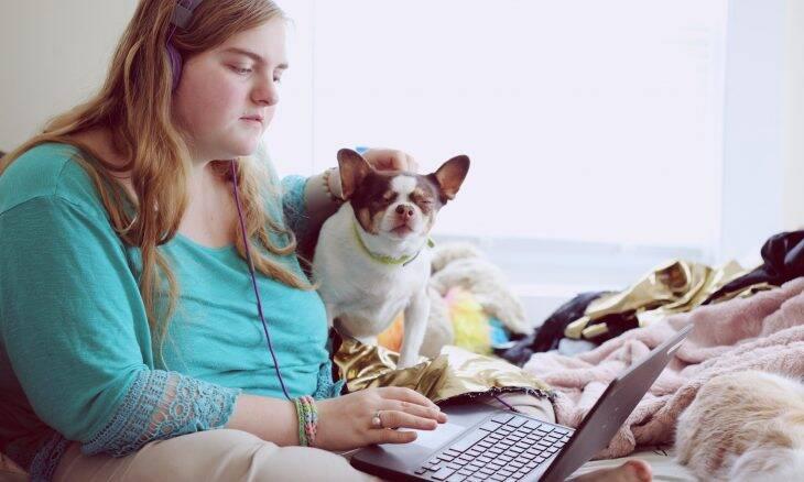 Universitários melhoram capacidade cognitiva acariciando cães, mostra estudo