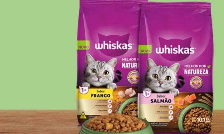 Melhor por Natureza: Whiskas lança linha de alimentos secos para gatos